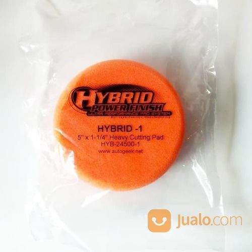 Lake Country Hybrid Power Finish Orange For Heavy Cutting Pad Size 5 I (17223747) di Kota Semarang