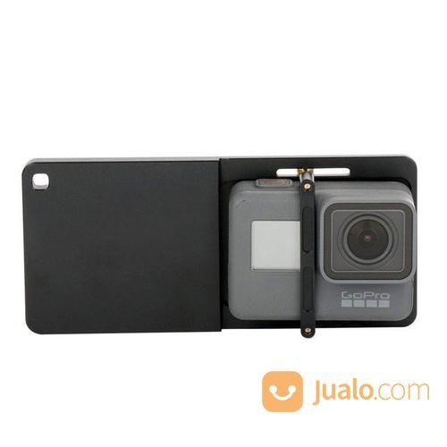 Action Camera Gopro Xiaomi SJCam Brica Adapter Switch Mount For DJI Osmo, Zhiyun, Feiyu Stablizer (17236959) di Kota Surabaya