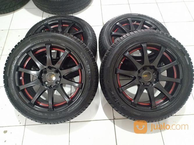 Velg Racing JD53 Ring 15 Pcd 4X100-4X114,3 LebarRata 7 Offset 45 Plus Ban (17298007) di Kota Bekasi