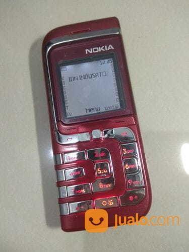 Nokia 7260 Red Maroon Siap Pakai (17338783) di Kota Kediri