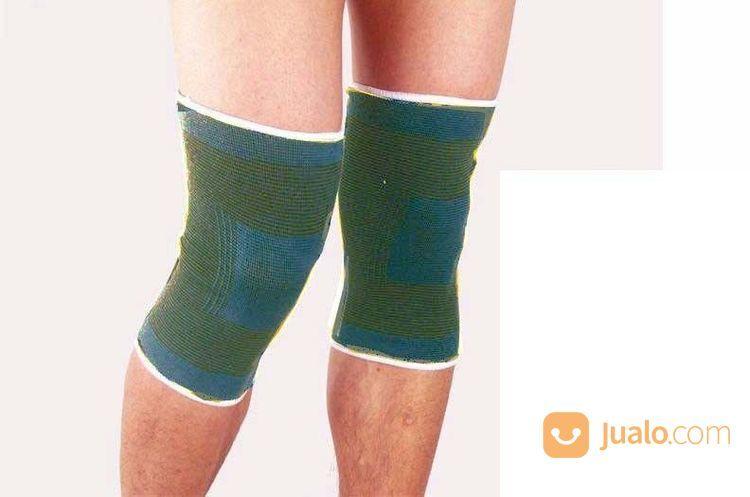 Deker Lutut Kesehatan Untuk Cedera Olahraga Futsal Badminton Bulu Tangkis Lansia Sepak Bola Volly (17344091) di Kota Surabaya