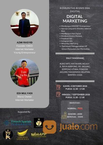 Workshop Private Internet Marketing: Whatsapp Dan Facebook Ads (17346491) di Kota Tangerang Selatan