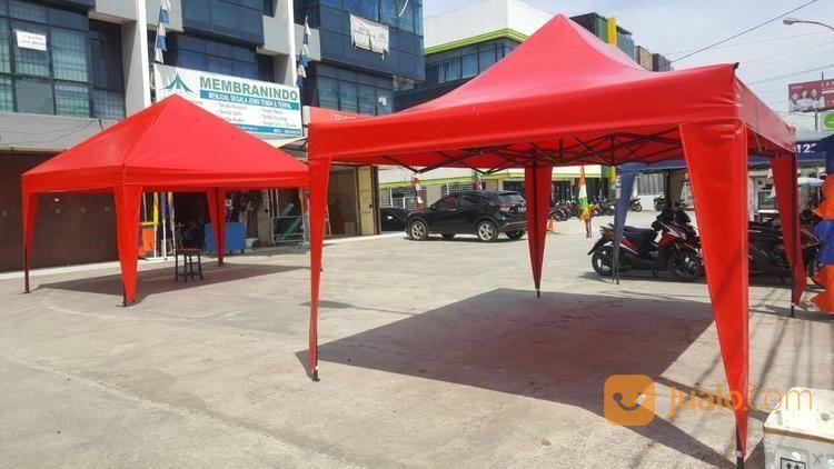 Tenda Lipat Merah Polos Ukuran 3x4.5 (17375203) di Kota Jakarta Barat