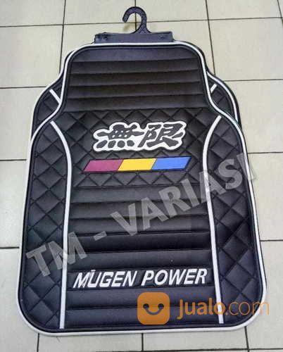 Karpet Mobil Universal Motif Mugen Power List Putih Dasar Hitam (17382643) di Kota Jakarta Pusat