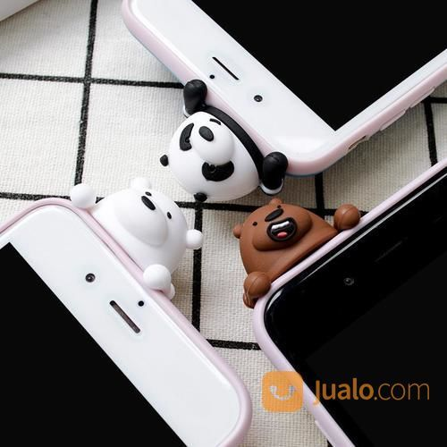 We Bare Bears Cute Phone Case For IPhone (17408015) di Kota Jakarta Barat