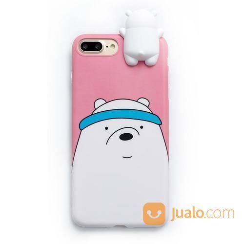 We Bare Bears Cute Phone Case For IPhone (17408027) di Kota Jakarta Barat