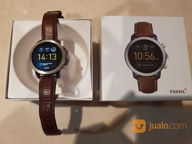 Fossil Q Explorist Gen 3 Smartwatch Luggage Leather Garansi 9 Bulan Lagi VERY MINT CONDITION (17425315) di Kota Jakarta Pusat