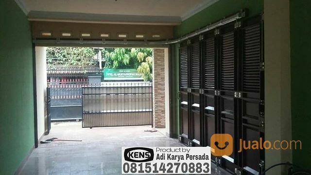 Pintu Besi Garasi Geser Ke Samping Irit Ruangan Tidak Repot | Tangerang | Jualo