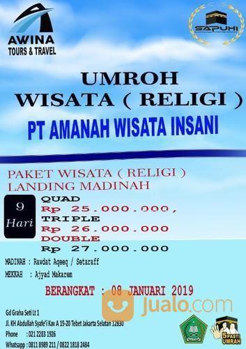 Umroh Hemat 9 Hari Bintang 4Umroh 9 Hari Hemat Bintang 4 (17479767) di Kota Jakarta Selatan