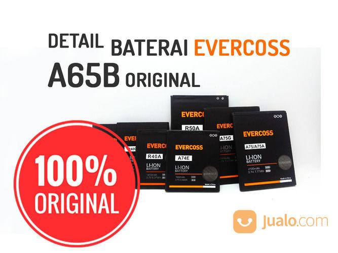 Baterai Evercoss A65B Original 100% (17483799) di Kab. Karanganyar