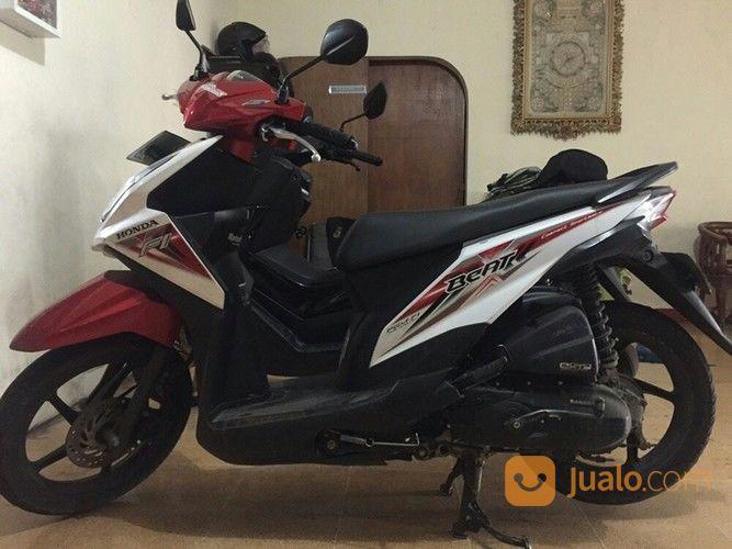 Honda Beat Pgm Fi Tahun 2015 Samsat Dan Plat H Semarang
