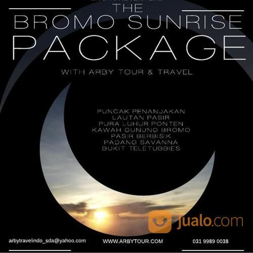 PAKET TOUR BROMO MIDNIGHT / SUNRISE (17485511) di Kab. Sidoarjo