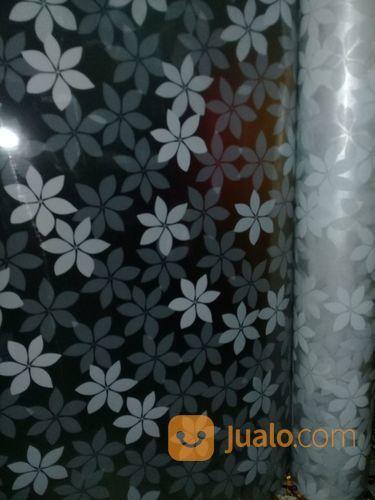 Sticker Sanblasth Motif Bunga Putih Untuk Kaca Jendela Kab Bogor Jualo