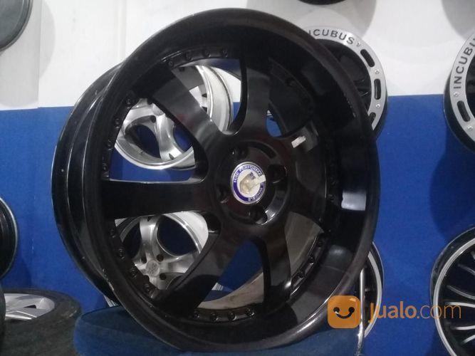 Velg Racing HRE R18 Pcd 4X100 Lebar 7/7,5 Offset 40 Semi Matt Black (17542503) di Kota Bekasi