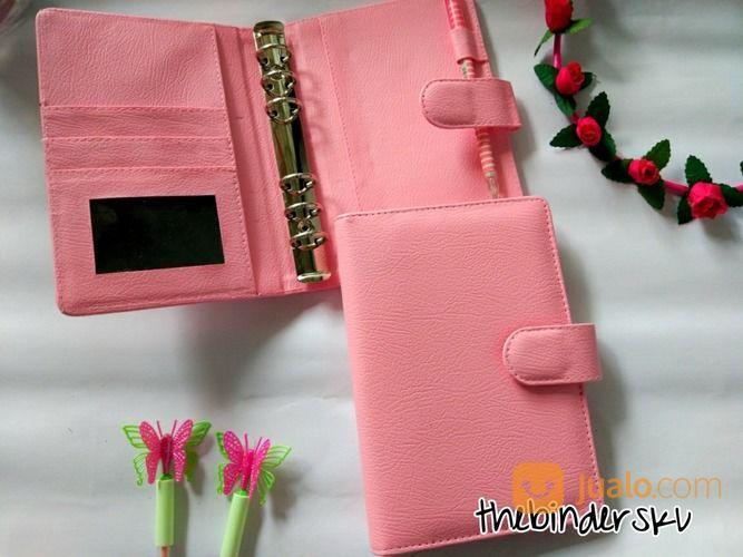 Binder Polos Pink Muda 6 Ring (17557363) di Kota Jakarta Selatan