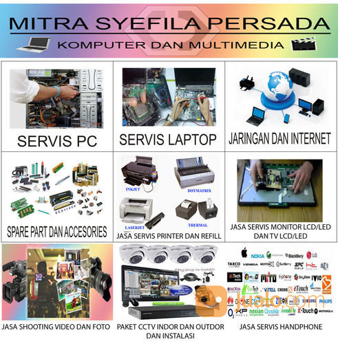 Servis Printer Dan Komputer Panggilan (17559019) di Kota Surabaya