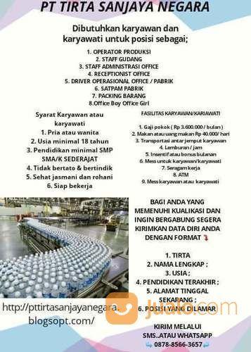 Dibuka Lowongan Kerja Untuk Lulusan Smp Sma K Jakarta Timur Jualo