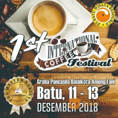 1st International Coffee Festival Batu 2018 (17603831) di Kota Batu