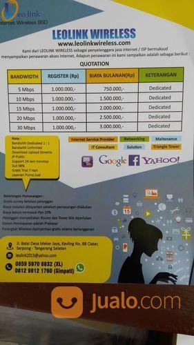 Internet Wireless Dedicated Jatake Tangerang (17643163) di Pasarkemis