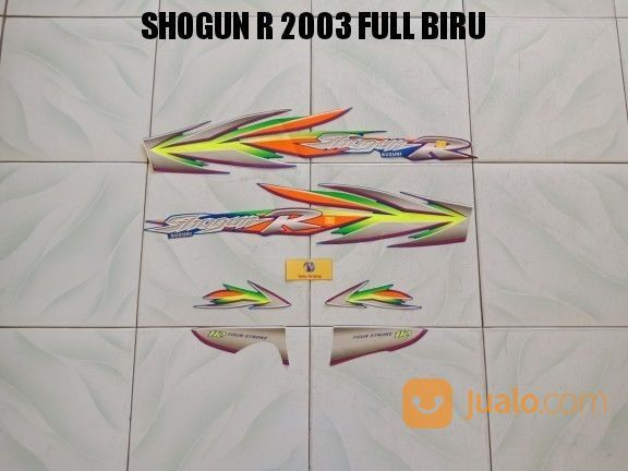 Striping Shogun R 2003 Full Biru (17652783) di Kota Jambi