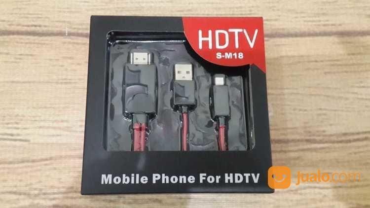Kabel MHL Micro USB To HDMI Mobile Phone HDTV SM18 (17665027) di Kota Surabaya