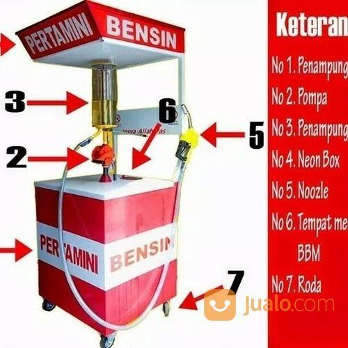 Pom Bensin Mini 1 Nozzle Manual (17680531) di Kab. Toba Samosir