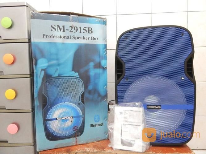 "Speaker Portable Soundmax15"" BluetothGress Plus Mic Katapang Soreang (17702559) di Kab. Bandung"