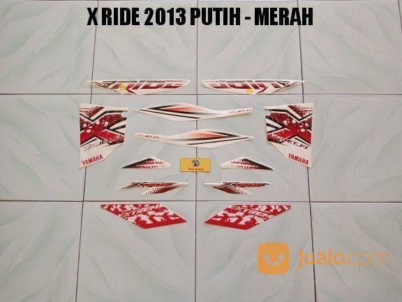 Striping X Ride 2013 Putih - Merah (17765847) di Kota Jambi