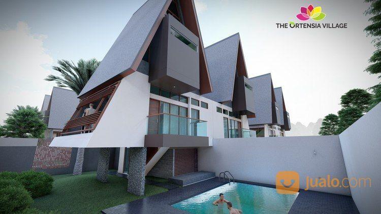 Villa Eksklusif 2 Lantai Cuma 799 Juta Plus Bonus Kolam Renang Dan Taman (17769687) di Kota Bogor