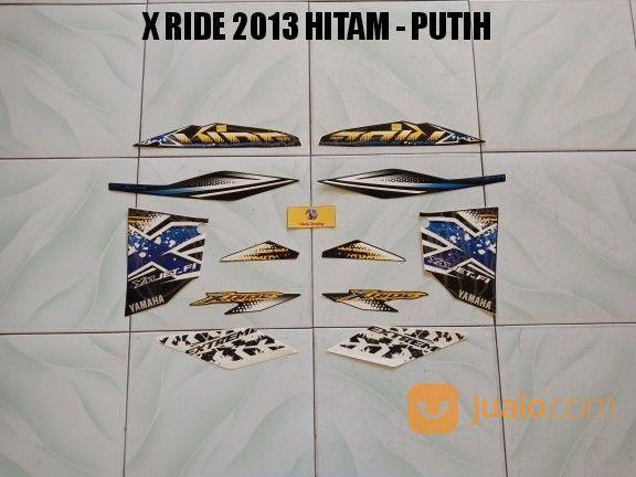 Striping X Ride 2013 Hitam - Putih