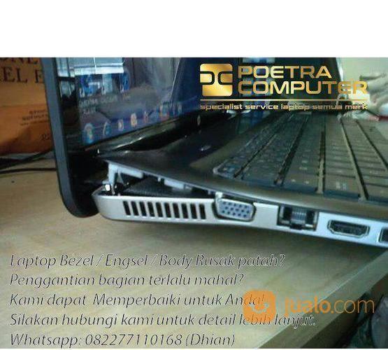 Laptop Kamu Bezel?Engsel Pecah Dan Body Rusak?Yukk Langsung Di Poetra Comp (17815191) di Kota Surabaya