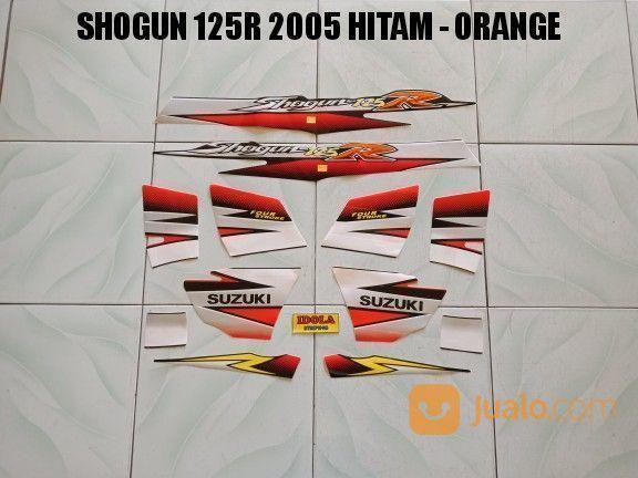 Striping Shogun 125R 2005 Hitam - Orange (17847007) di Kota Jambi