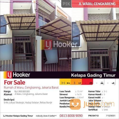 Rumah Jl Waru Cengkareng Jakarta Barat Jakarta Barat Jualo