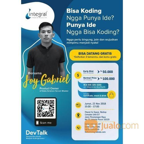 Friday It's Freeday-Talkshow IT Jakarta (17875223) di Kota Jakarta Pusat