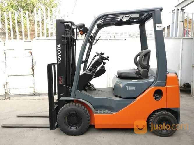 Forklift bensin toyot perlengkapan industri 17899039