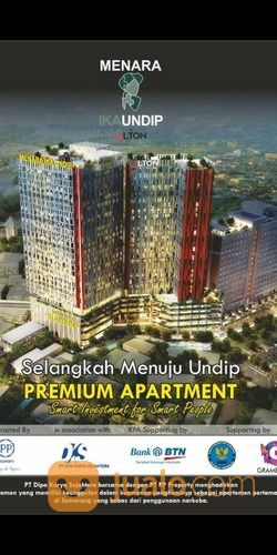 Miliki Hunian Cerdas Invetasi Cerdas Di Kawasan Premium Student Tembalang Semarang (17918175) di Kota Semarang