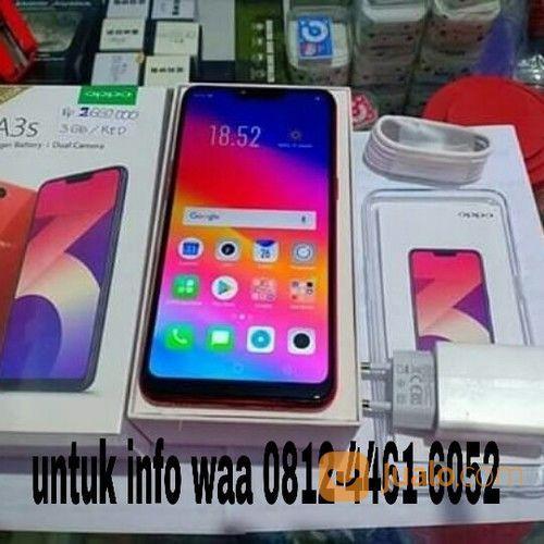Oppo a3s merah redy handphone oppo 17937399