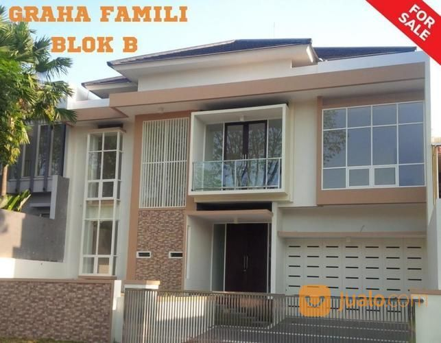 TURUN Harga Rumah MODERN Graha Famili Blok B Bangunan MINIMALIS (18065943) di Kota Surabaya