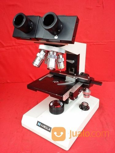 Mikroskop meiji binoc perlengkapan industri 18067919
