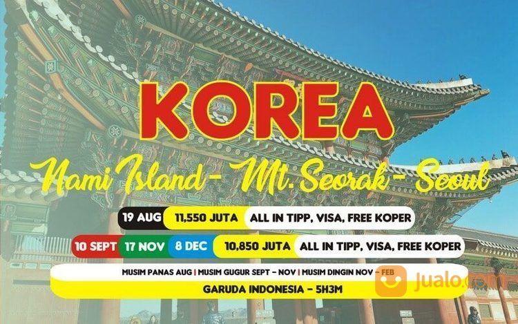 Paket Tour Wisata Korea 5 Hari (18157611) di Kota Bandung