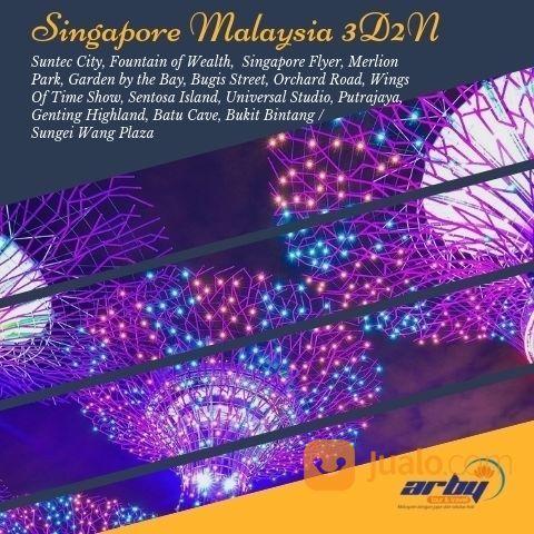 PAKET WISATA SINGAPORE MALAYSIA 3D2N (18198743) di Kab. Sidoarjo