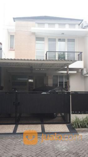 Rumah Di Griya Asri Full Furnish Siap Huni 2 Lantai, Jalan Depan Rumah Cukup Luas, Surabaya