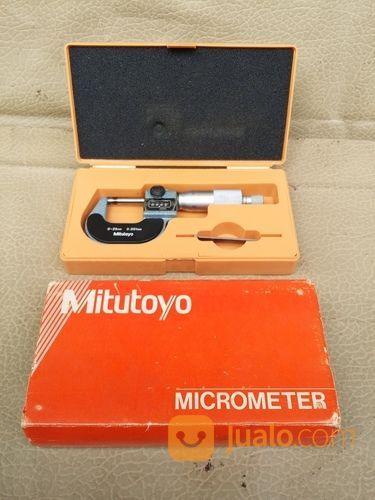 Mitutoyo Micrometer Digit Counter 0-25mm (18303919) di Kota Jakarta Barat