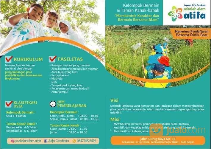 Sekolah Alam Atifa Bogor Kelompok Bermain Taman Kanak Kanak Daycare Yasmin Bogor Jualo