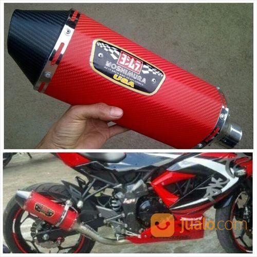 Knalpot racing ninja sparepart motor knalpot motor 18417115