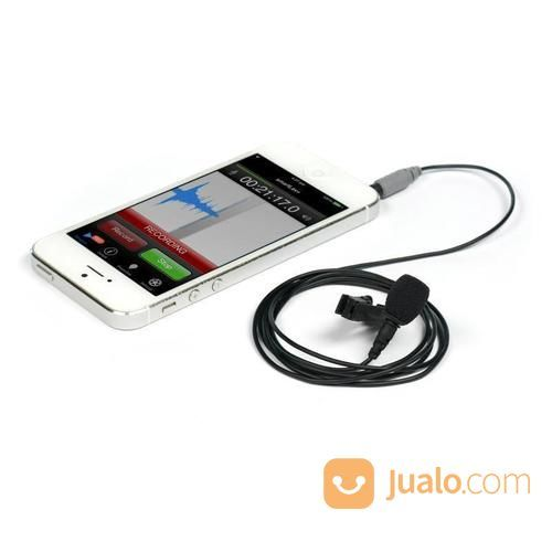 Rode SmartLav+ Lavalier Condenser Microphone For IPhone And Smartphones (18427031) di Kota Surabaya