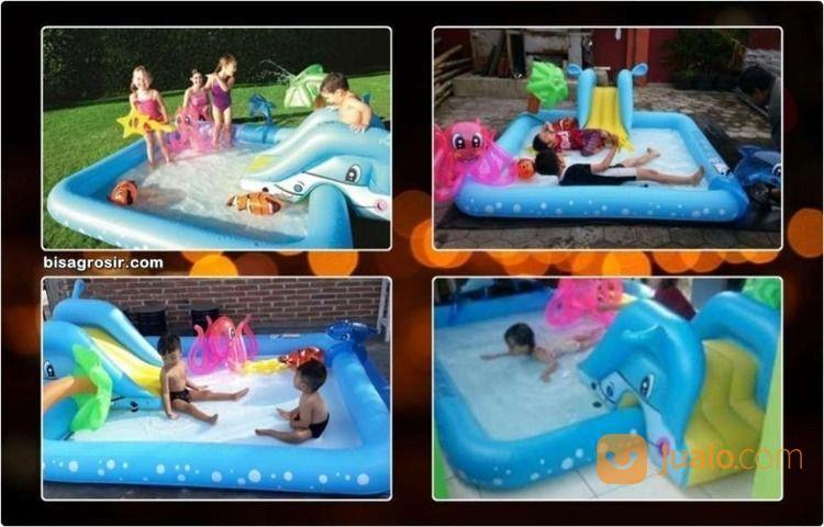 Bestway Kolam Renang Bermain Anak Fantastic Aquarium Play Pool (18437995) di Kab. Kep. Seribu