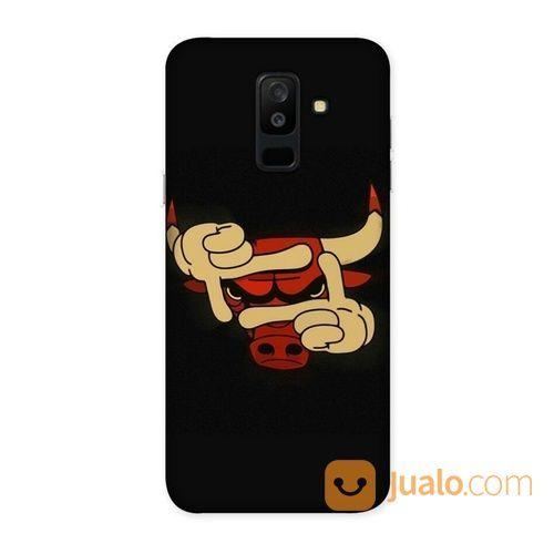 Billy Bull Samsung Galaxy A6 Plus Custom Hard Case (18546475) di Kota Bekasi