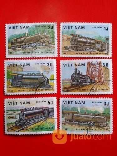Perangko kereta vietn koleksi lainnya 18550571