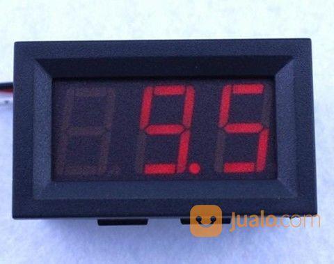 Voltmeter Digital DC 100V 2 Kabel Malang Kota Gratis Antar (18564567) di Kota Malang